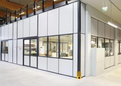 Trennwandsysteme für Produktion und Lager