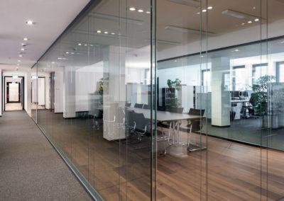 Lehnert-Bürowelten Trennwandsysteme für Büro und Verwaltung